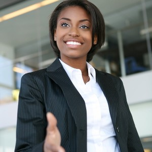bigstockphoto_Business_Woman_Handshake_2815942